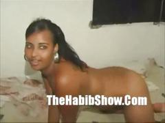 Dominican pussy rammed hard