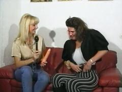 German lesbians toying