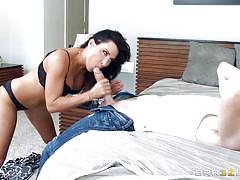 This milf can take two cocks at once