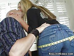 milf, facesitting, blonde, big ass, big tits, ass grabbing, 69 position, 40 inch plus, reality kings, phoenix marie, christian