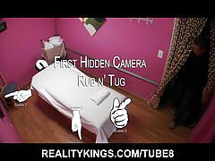 Hidden camera rub and tugs. every man's dream massage