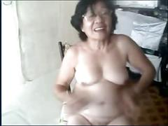 amateur, asian, grannies