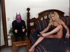Hot wife gets fucked by midget demon