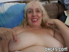 Aunt rosa rubbing her fat cunt