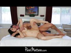 Puremature 34dd mom does anal hd