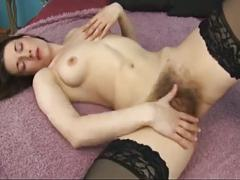 Hot compilation of hairy pussy masturbation 2 by troc