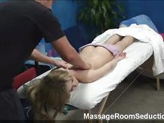 Amateur spycam in massage room