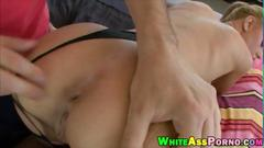 Busty babe jessi rogers pounded in the ass with throbbing cock