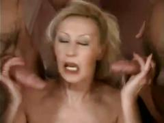 Hot cocksucking german mature does dp by troc