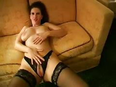 Busty german bitch in her first scene