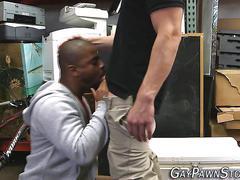 Black amateur sucks dicks