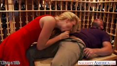 Blonde wife samantha rone fuck and jump cock