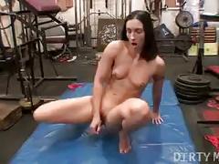 Flexible dildo workout