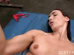 Flexible dildo workout