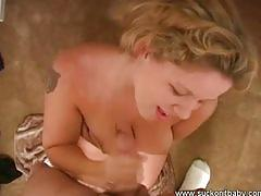 Claire tit fucked and sucked