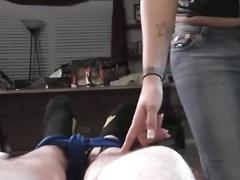 Dominant jerk at home
