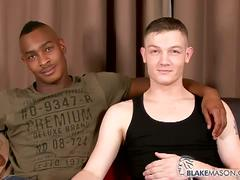 Interracial anal sex with kai cruz and tyson tyler