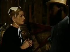 Amish black cock slut