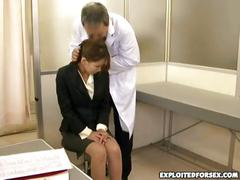 Doctor fucks a business woman