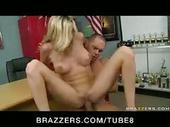 Big tit blonde milf scout fucked doggy style by player  squirts