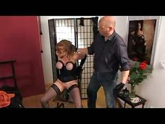 Milf abused by her master