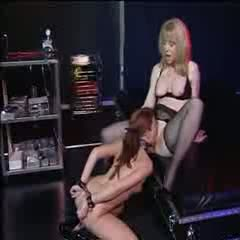 Teen bondage with nina