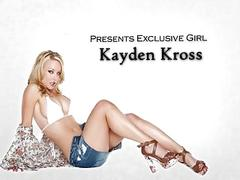 Sexy blonde wife kayden kross rides hard cock to big orgasm