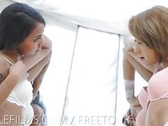 Nubile films hot young lesbian lovers