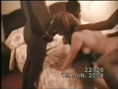 Classic french amateur gangbang