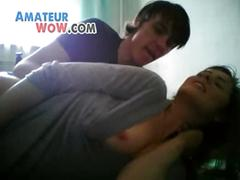 Cute teen getting fucked on webcam -- amateurwow.com