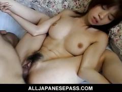 Hairy pussy japanese yui sarina fucked