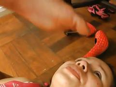 Lesbian foot worship 33