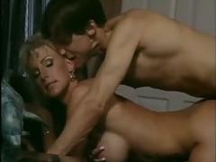 big tits, blonde, vintage, blowjob, classic, retro, busty, secretary, lick, pussy