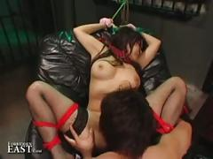 Uncensored japanese bdsm sex
