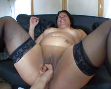 Sabrina and mae fucked in a groupsex