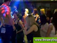 Group party amateur orgy with party girls