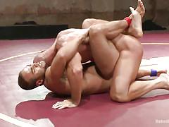 tattoo, wrestling, gays, muscles, fighting, naked combat, gay hunks, naked kombat, kink men, mitch vaughn, brock avery