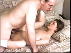 Teenager russian model tryes porn with old ed