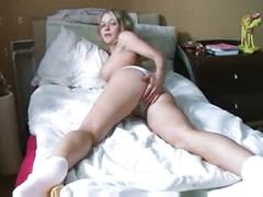 tits, big, dildo, blonde, toy, masturbation