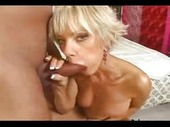 Fucking hot french milf blonde