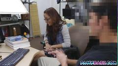 A pornstar got banged in the backroom