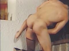 amateur, big dick, euro, pornhub.com, trimmed, fishnets, heels, garter-belt, french, anal, ass-fucking, ass-fuck, cumshot, facial, red-head, small-tits, doggystyle, fingering