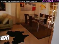 Webcam voyeur pour les francais chez un couple libertin