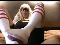 amateur, foot fetish, milfs, stockings