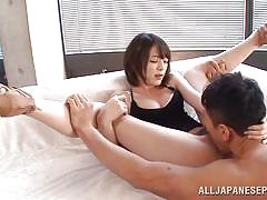 babe, japanese, blowjob, hairy pussy, ball sucking, cunnilingus, 18 tokyo, all japanese pass, mikoto tsukawa