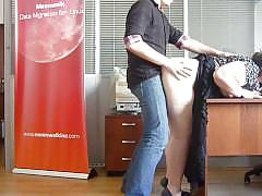 Russian bbw office sex