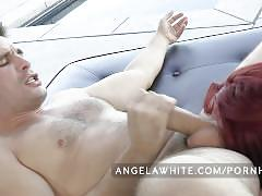 Big tit australian angela white all anal threesome