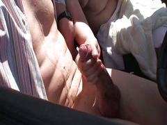 Nervous public whore fucking