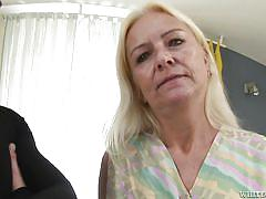 blonde, granny, hairy, old young, panties, pussy rubbing, granny ghetto, fame digital, bianca t, steve q