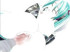 Hatsune miku vocaloid hentai